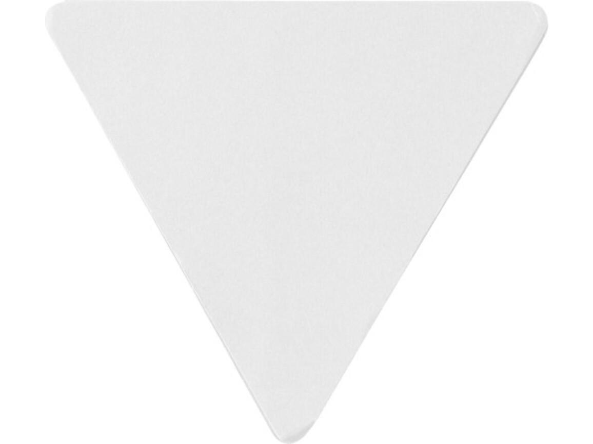 Haftnotizen 'Tri' aus Papier – Weiß bedrucken, Art.-Nr. 002999999_8990