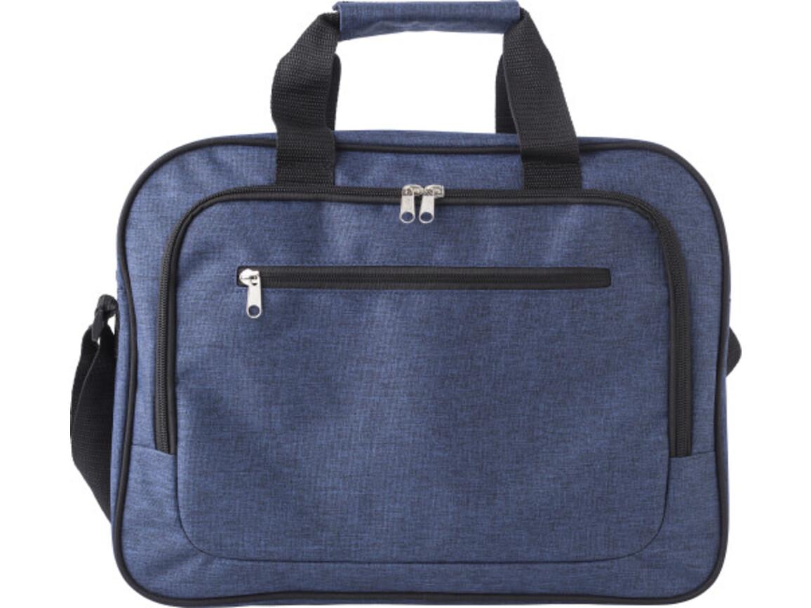 Laptoptasche 'Teacher' aus Polyester – Blau bedrucken, Art.-Nr. 005999999_9169