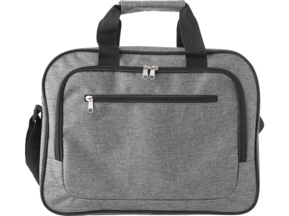 Laptoptasche 'Teacher' aus Polyester – Grau bedrucken, Art.-Nr. 003999999_9169