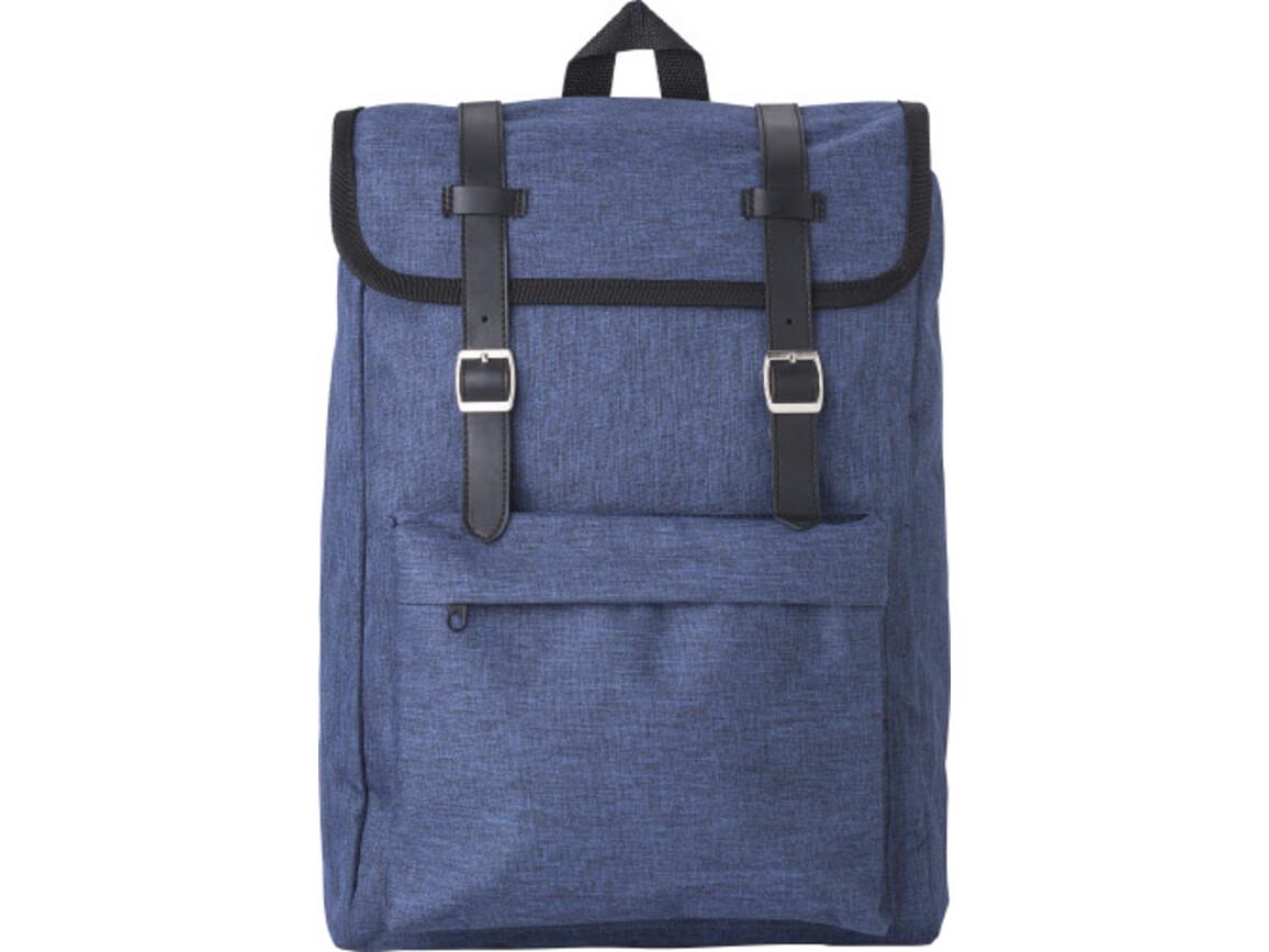 Rucksack 'Learner' aus Polyester – Blau bedrucken, Art.-Nr. 005999999_9170