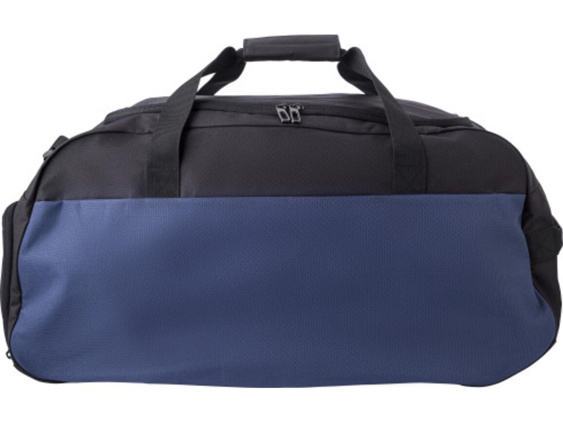 Sporttasche 'Shane' aus Polyester – Blau bedrucken, Art.-Nr. 005999999_9186