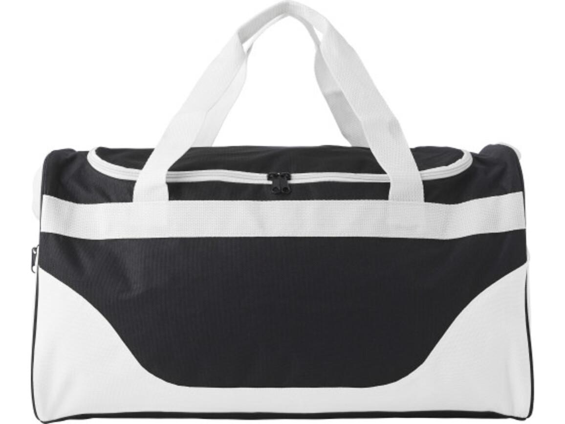 Sporttasche 'Breeze' aus Polyester – Weiß bedrucken, Art.-Nr. 002999999_9246