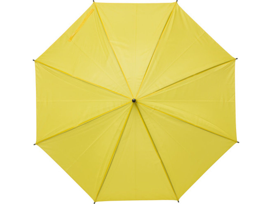 Regenschirm 'John' aus Polyester – Gelb bedrucken, Art.-Nr. 006999999_9253