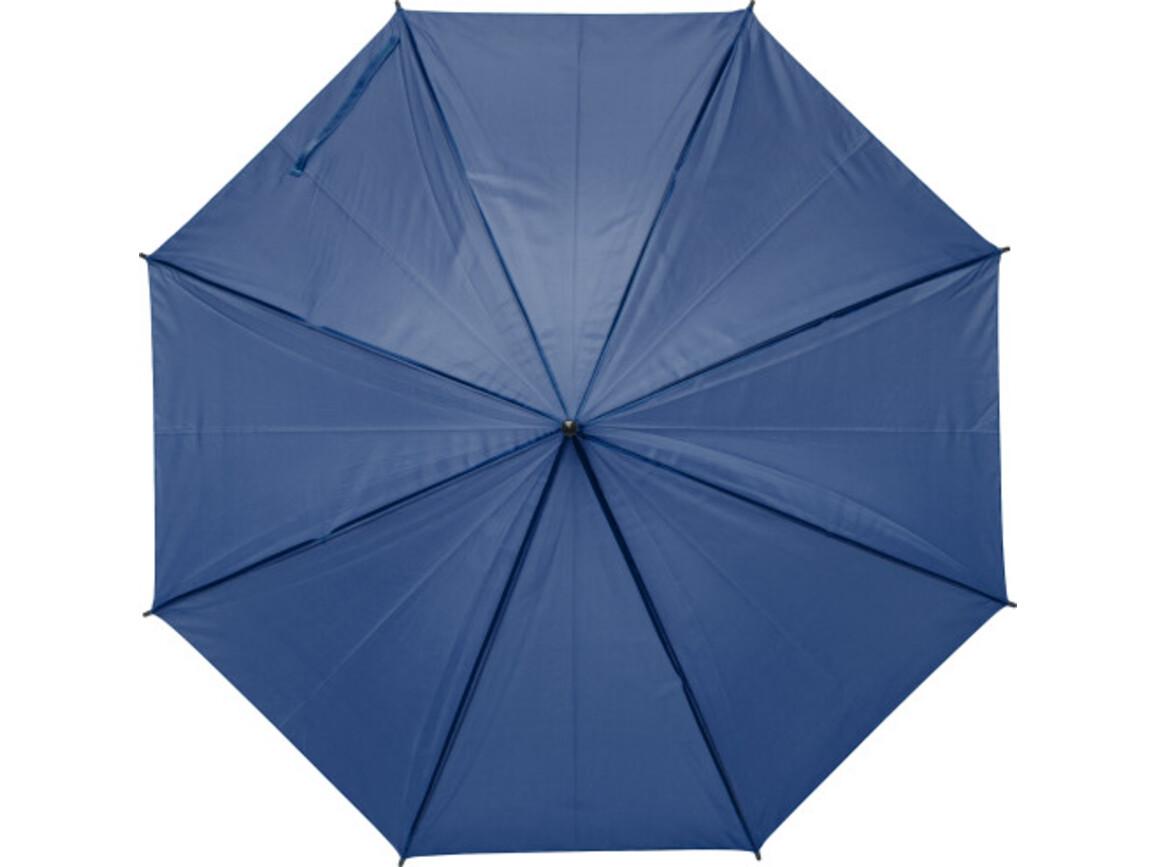 Regenschirm 'John' aus Polyester – Blau bedrucken, Art.-Nr. 005999999_9253