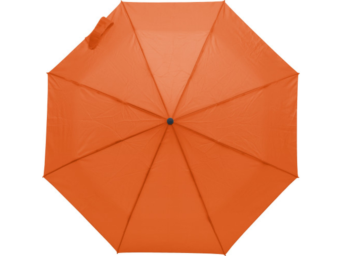 Regenschirm 'Skadi' aus Polyester – Orange bedrucken, Art.-Nr. 007999999_9255