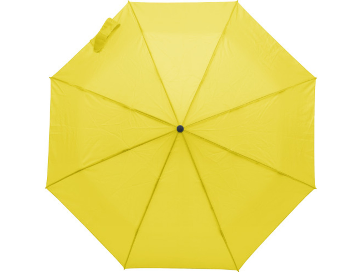 Regenschirm 'Marion' aus Polyester – Gelb bedrucken, Art.-Nr. 006999999_9255