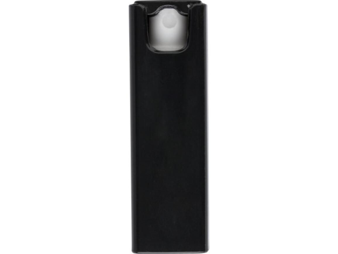 Bildschirmreiniger 'Cleansing' aus Kunststoff – Schwarz bedrucken, Art.-Nr. 001999999_9151