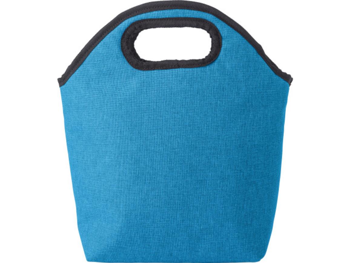 Kühltasche 'Trendshopper' aus Polycanvas – Hellblau bedrucken, Art.-Nr. 018999999_9274