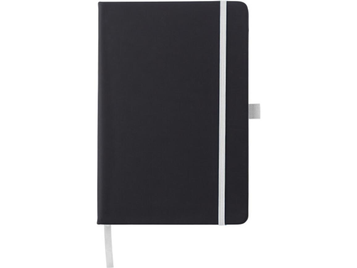 Notizbuch 'Regenbogen' aus Kunststoff – Weiß bedrucken, Art.-Nr. 002999999_8384