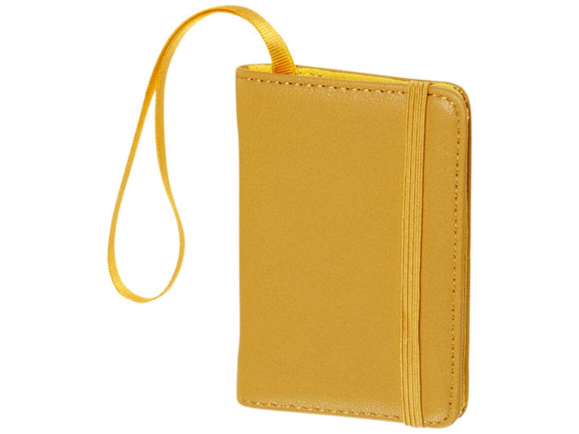 Classic Gepäckanhänger, gelb bedrucken, Art.-Nr. 10741423