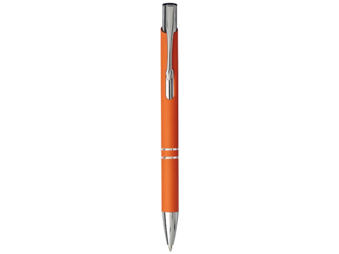 Moneta Soft Touch Druckkugelschreiber, orange bedrucken, Art.-Nr. 10743705