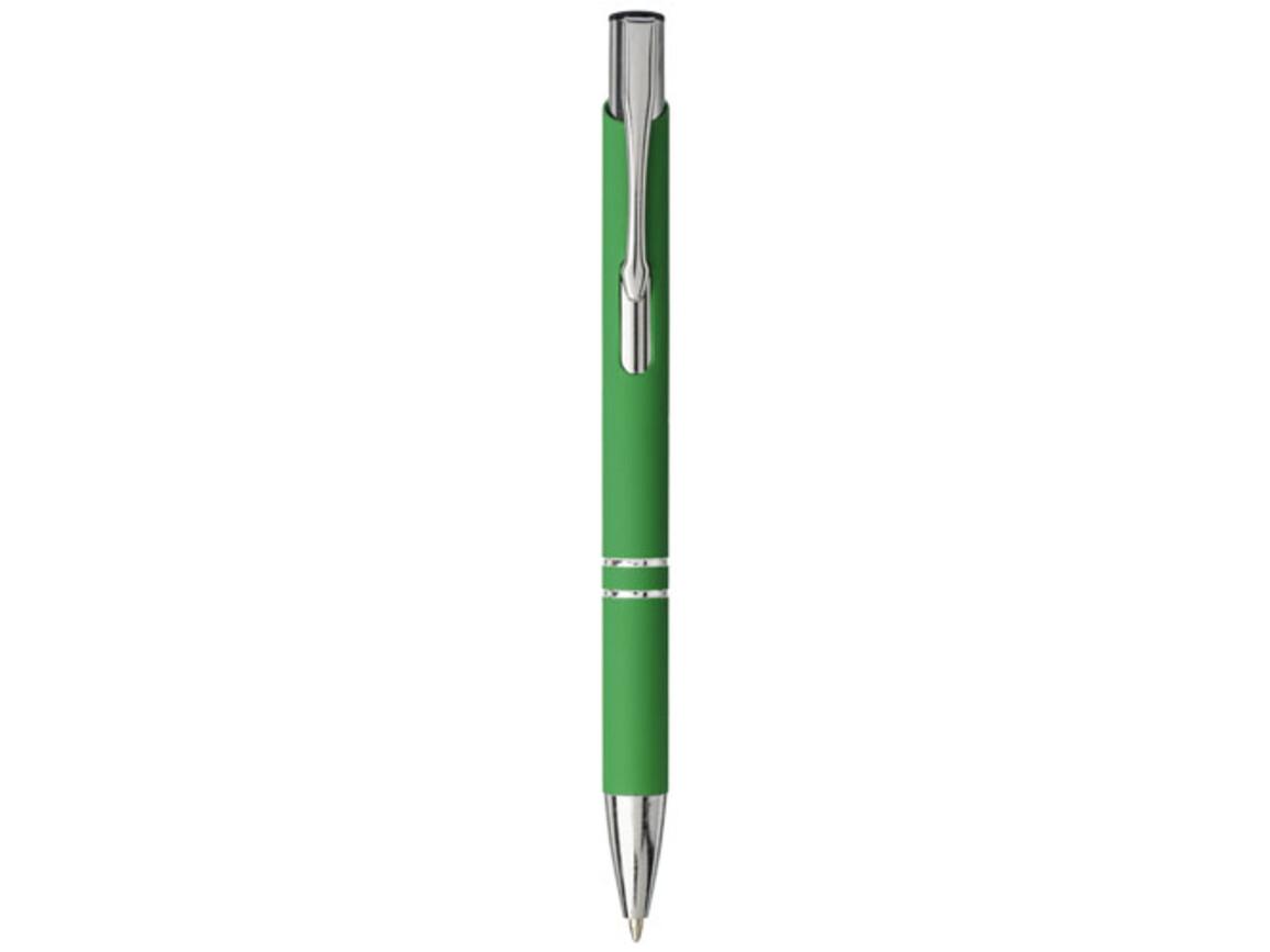 Moneta Soft Touch Druckkugelschreiber, grün bedrucken, Art.-Nr. 10743714