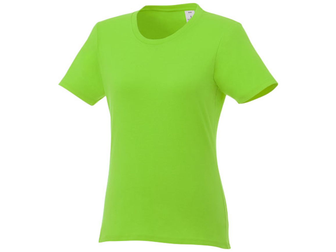 Heros kurzärmliges T-Shirt für Damen, apfelgrün bedrucken, Art.-Nr. 38029681