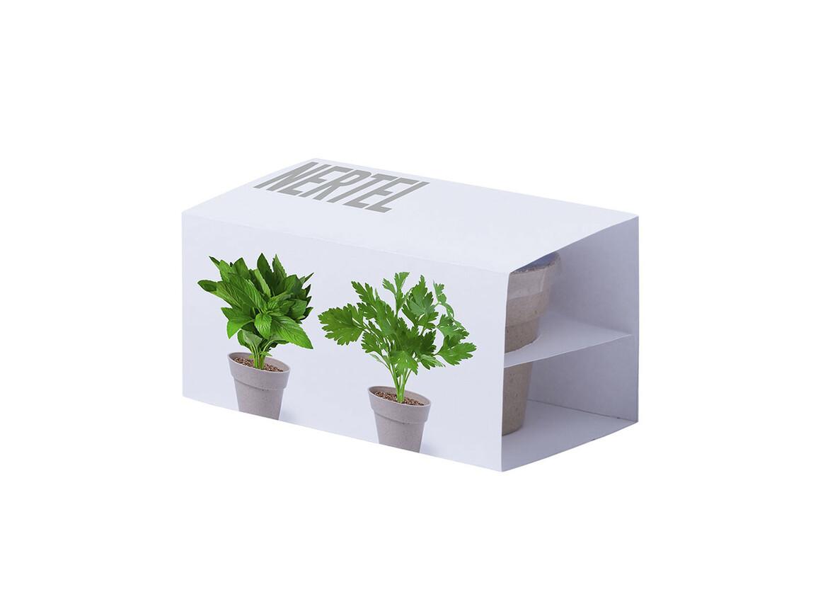 Nertel - Blumentopf Set bedrucken, Art.-Nr. 5113S/T