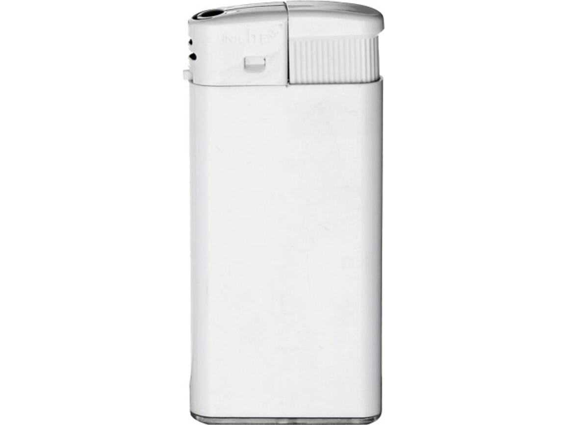 Unilite electric lighter Square – Weiß bedrucken, Art.-Nr. 002999999_3913