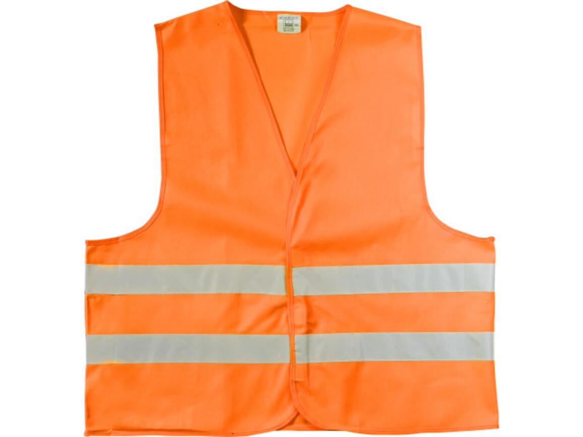 Warnweste 'Safe Travel' – Orange bedrucken, Art.-Nr. 007044999_6541
