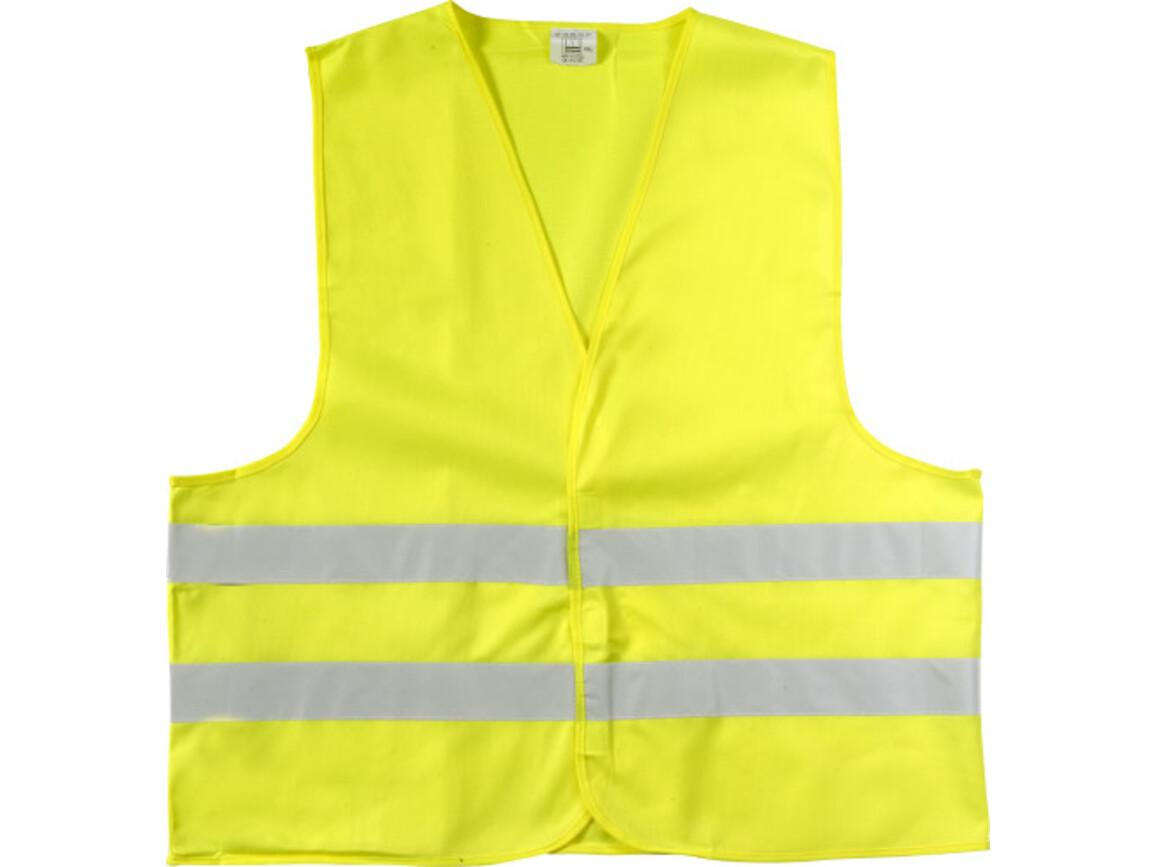 Warnweste 'Safe Travel' – Gelb bedrucken, Art.-Nr. 006044999_6541