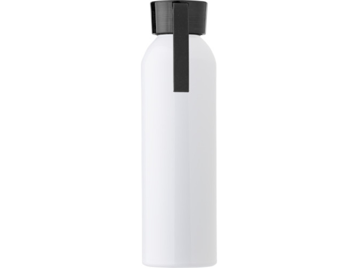 "Aluminium Flasche ""Florida"" (650 ml) – Schwarz bedrucken, Art.-Nr. 001999999_9303"