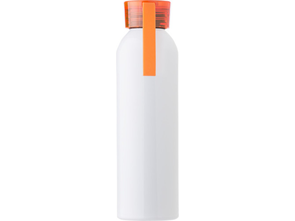 "Aluminium Flasche ""Florida"" (650 ml) – Orange bedrucken, Art.-Nr. 007999999_9303"