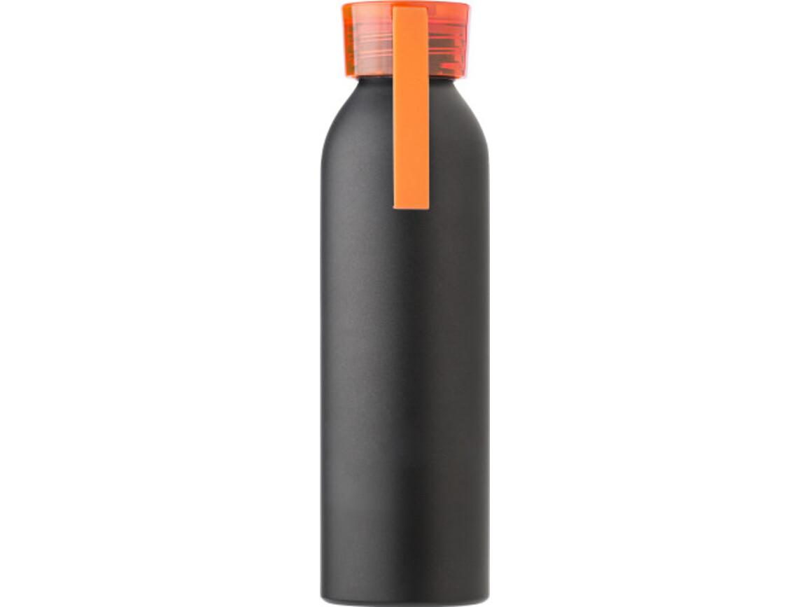 "Aluminium Flasche ""Flo"" (650 ml) – Orange bedrucken, Art.-Nr. 007999999_9305"