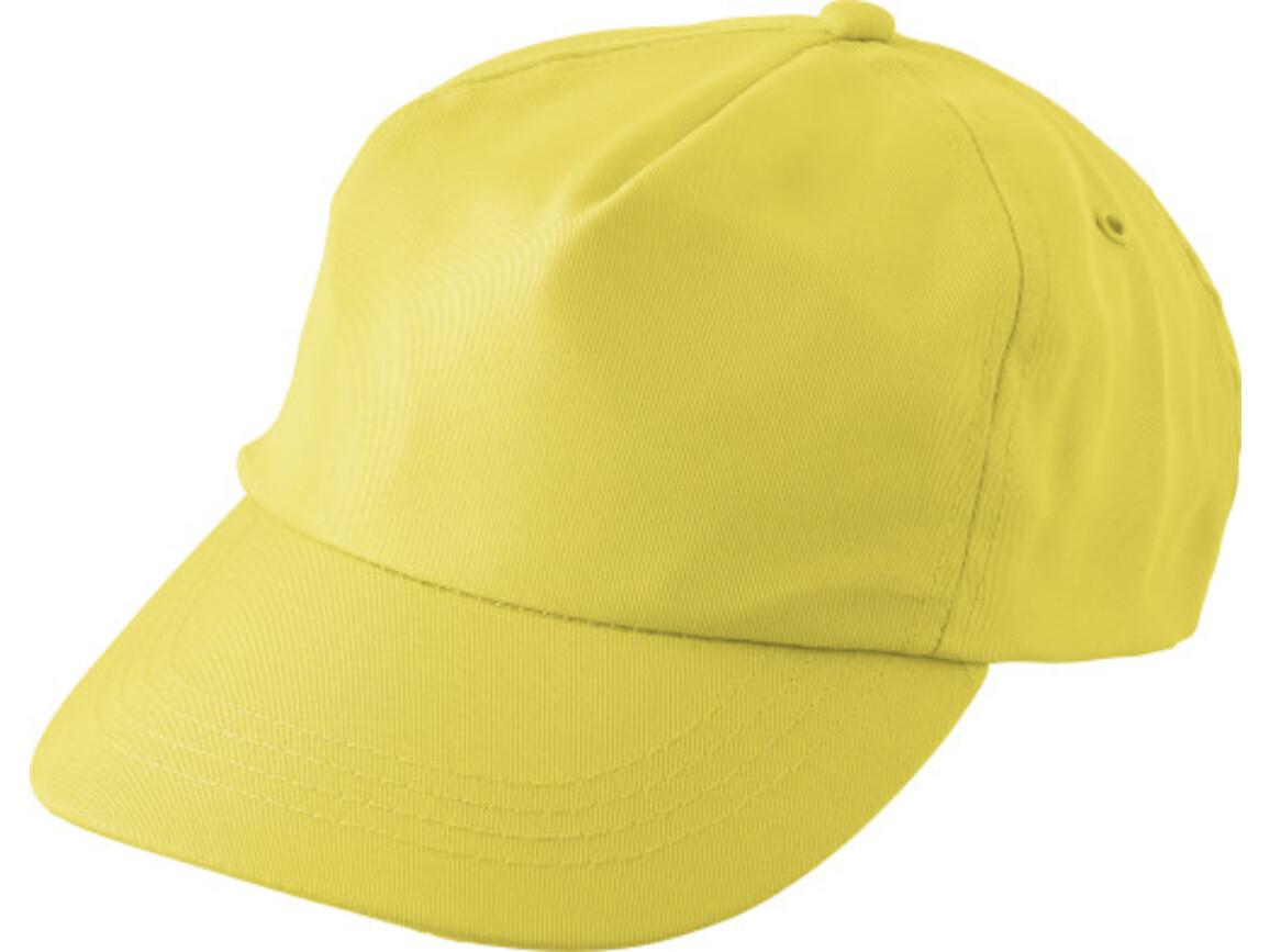 """Schirmmütze aus RPET """"Maverick"""" – Gelb bedrucken, Art.-Nr. 006999999_9343"""