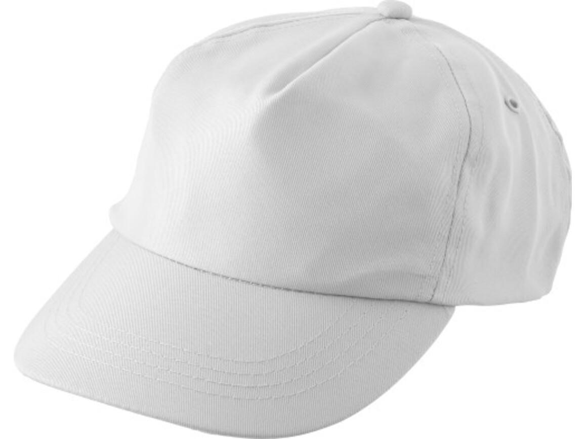 "Schirmmütze aus RPET ""Maverick"" – Weiß bedrucken, Art.-Nr. 002999999_9343"