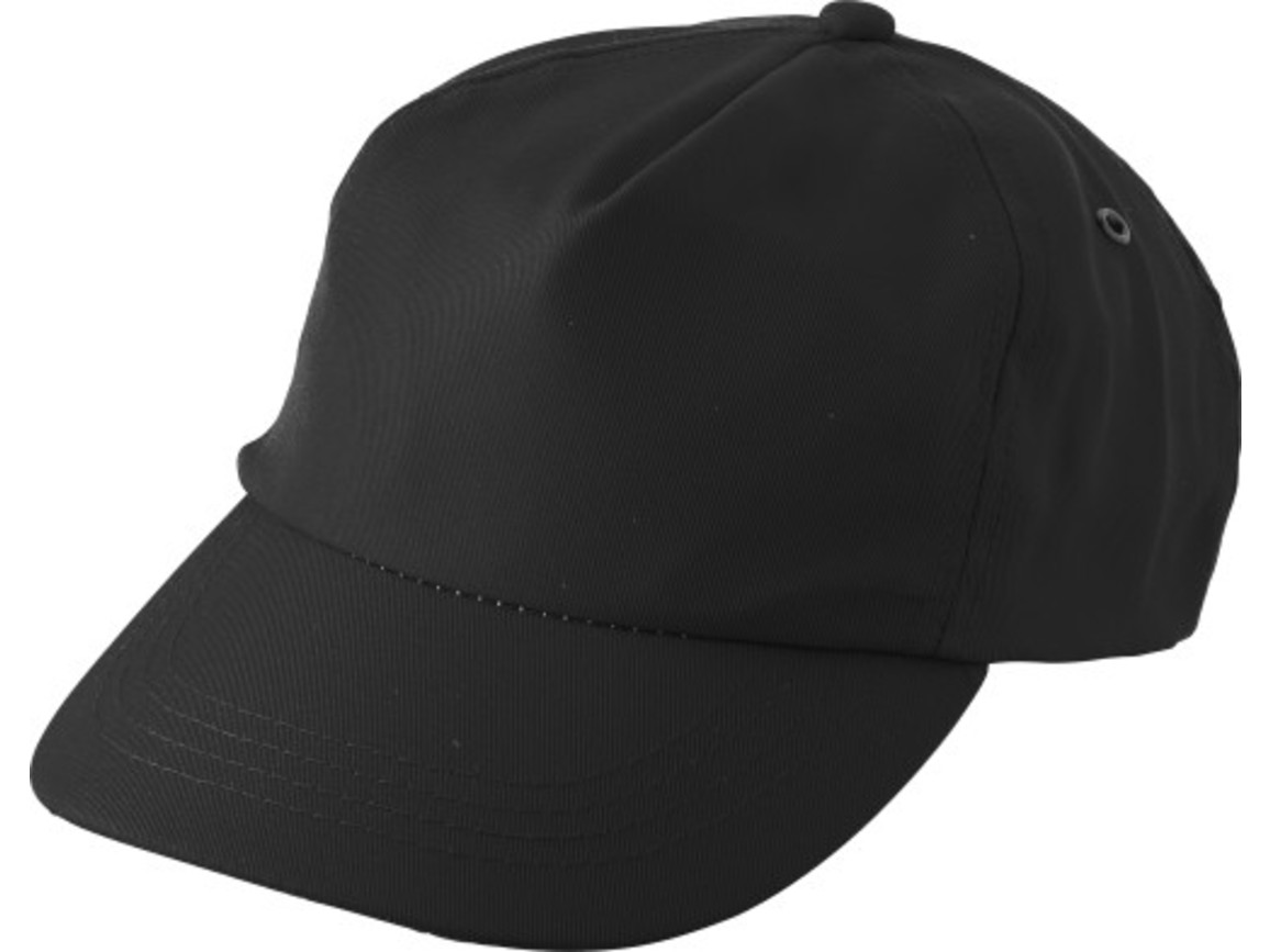 "Schirmmütze aus RPET ""Maverick"" – Schwarz bedrucken, Art.-Nr. 001999999_9343"