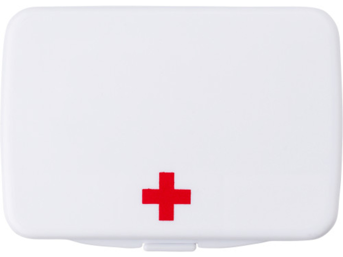"Erste-Hilfe-Kit ""Klarna"" – Weiß bedrucken, Art.-Nr. 002999999_8607"
