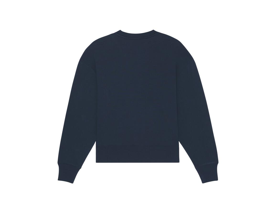 Lässiges Rundhals-Sweatshirt - French Navy - S bedrucken, Art.-Nr. STSU857C7271S